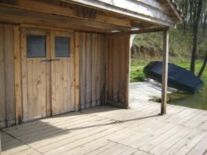 Terrasse & Boot - Hütte 15